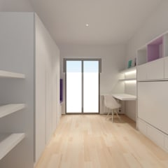 REFORMA MP BARCELONA: Dormitorios infantiles de estilo  de inzinkdesign