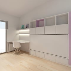 minimalistic Nursery/kid's room by inzinkdesign