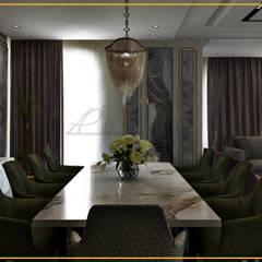 فيلا تاج سلطان:  غرفة السفرة تنفيذ Art Attack