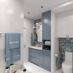 ห้องน้ำ by Мастерская дизайна Онищенко Марии