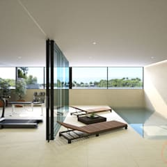 Swimming pond by Realistic-design