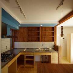 柏市K邸一戸建リノベーション: K+Yアトリエ一級建築士事務所が手掛けたキッチン収納です。