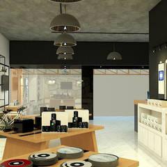 Centros Comerciales de estilo  por บริษัท  ทีซี อินเทอโน่ 456 จำกัด