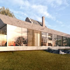 Glazed Extension for Dutch Gabled Property.:  Country house by HollandGreen