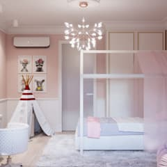 Girls Bedroom by Art-i-Chok