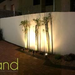 Proyecto Campo Grande: Jardines de estilo  por Arqland arquitectura y paisajismo