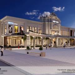 Dự án Trung Tâm Thương Mại:  Khu Thương mại by AnS - Architecture Style