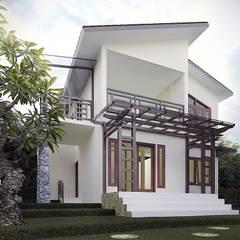 Rumah Tropis Semarang Oleh Chans Architect Tropis
