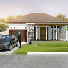 Mr. wira' House:  Rumah by Chans Architect