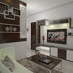 Beautiful Design Ideas For My Home Vihanga: Living Room By URBAN HOSPEX INTERIORS