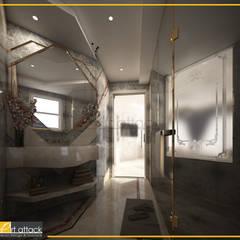 شقة مساكن شيراتون:  حمام تنفيذ Art Attack