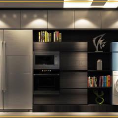 شقة مساكن شيراتون:  مطبخ تنفيذ Art Attack