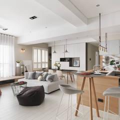 Dapur by 賀澤室內設計 HOZO_interior_design