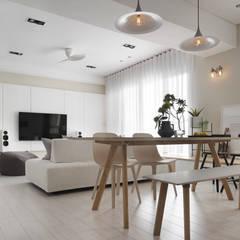 by 賀澤室內設計 HOZO_interior_design Scandinavian