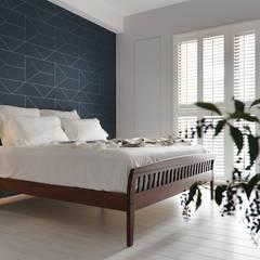غرفة نوم تنفيذ 賀澤室內設計 HOZO_interior_design,
