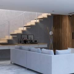 Rumah Tinggal Kontemporer Ruang Keluarga Minimalis Oleh Kalytera Studio Minimalis