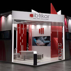 Exhibition stand design By S3tkoncepts:  Stairs by s3tkoncepts