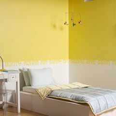 Nursery/kid's room by Papersky Studio