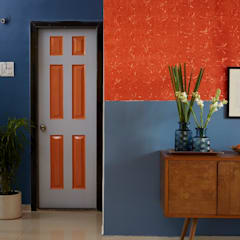 Colour inspired spaces:  Corridor & hallway by Papersky Studio