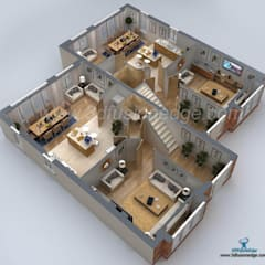 Commercial Spaces توسط3DFUSIONEDGE, مدرن