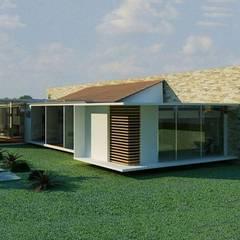 Quintas de Serrezuela: Conjunto residencial de estilo  por Coestructural sas, Clásico Concreto reforzado