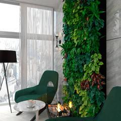 เรือนกระจก โดย Студия NATALYA SOLNTSEVA Interiors Design,