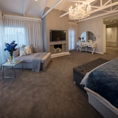 :  Bedroom by Spegash Interiors, Country