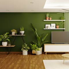 Living room by Green Interior
