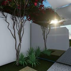 Jardim Social: Jardins de inverno  por Gislene Soeiro Arquitetura e Interiores
