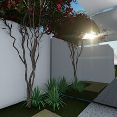 Gislene Soeiro Arquitetura e Interiores:  tarz Kış Bahçesi