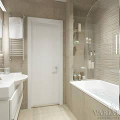 ЖК Московская 21 - 88 м²: Ванные комнаты в . Автор – variatika