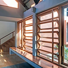 Kashid House: rustic Living room by DCOOP ARCHITECTS