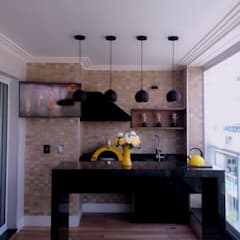 Bancada de Granito: Terraços  por STUDIO SPECIALE - ARQUITETURA & INTERIORES