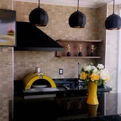 Forno de Pizza: Terraços  por STUDIO SPECIALE - ARQUITETURA & INTERIORES