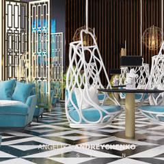 Hotel in Spain: Бассейн в . Автор –  Андрейченко Анжеликa