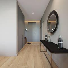 Corridor & hallway by Y.F.architects