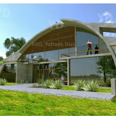 Passive house by Arq. Yofrank Diaz,