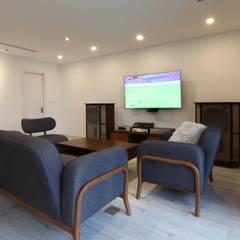 Multimedia-Raum von AOTA atelier