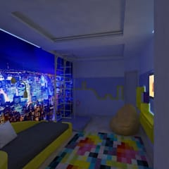 Детская: Спальни для мальчиков в . Автор – Гузалия Шамсутдинова | KUB STUDIO