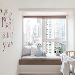 Cherry Crest B:  Bedroom by Clifton Leung Design Workshop