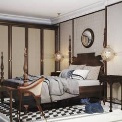 Dormitorios de estilo colonial por V Design Studio