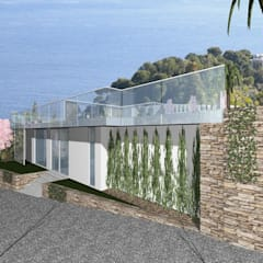 Arch. Giuseppe Barone _ Studio di Architettura & Tutela del Paesaggioが手掛けたインフィニティプール