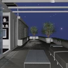 بيت زجاجي تنفيذ Arch. Giuseppe Barone _ Studio di Architettura & Tutela del Paesaggio,
