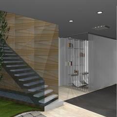 Palestra Sliema _ Malta: Palestra in stile in stile Moderno di Arch. Giuseppe Barone _ Studio di Architettura & Tutela del Paesaggio