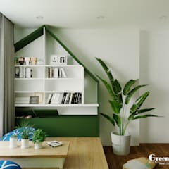 Pisos de estilo  por Green Interior, Tropical Mármol