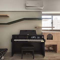 Phòng học/Văn phòng theo 禾光室內裝修設計 ─ Her Guang Design,