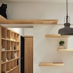 Happy Cat Cozy Home:  走廊 & 玄關 by 禾光室內裝修設計 ─ Her Guang Design