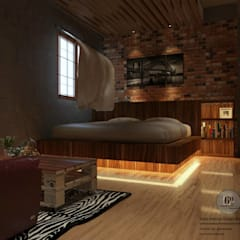 Bedroom by sixty interior design & renovation, Eclectic