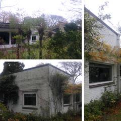 "Herontwerp Bungalow Oosteinde  51°54""N 4° 5""O:  Bungalow door MOTUS architects"