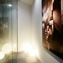 Reforma de Oficinas en PATRIMONY BCN: Oficinas y Tiendas de estilo  de Laia Ubia Studio